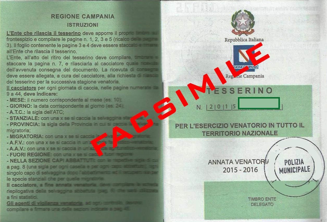 Calendario Venatorio 2020 Campania.Pagina 2
